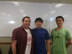 Scott, Sensei Shimamura & Translator Hokazono